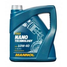 MANNOL Nano Technology 10W-40 API SM/CF